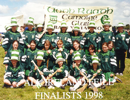 Click to see the Camogie feile team