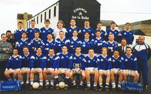 Click to see the De La Salle Ulster McLarnon Cup Winning team